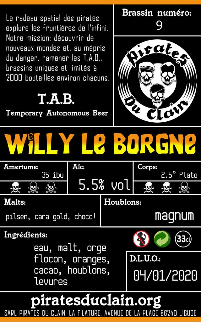 willy le borgne verso
