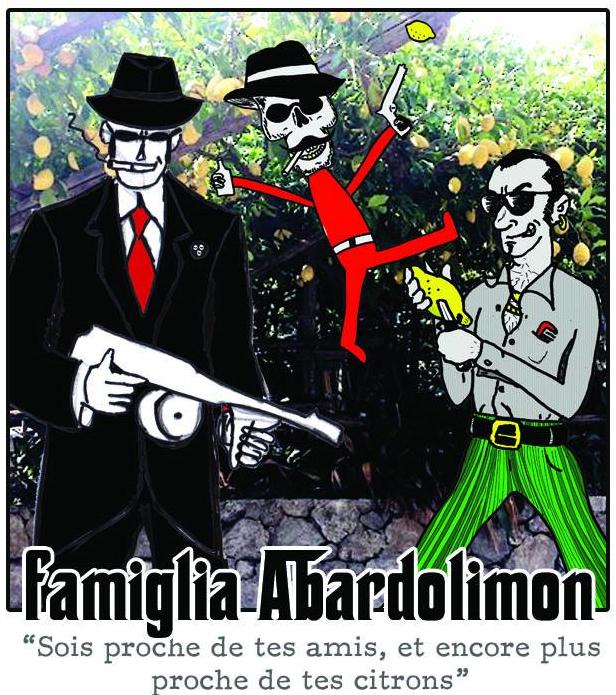 étiquette Famiglia Abardolimon/coop