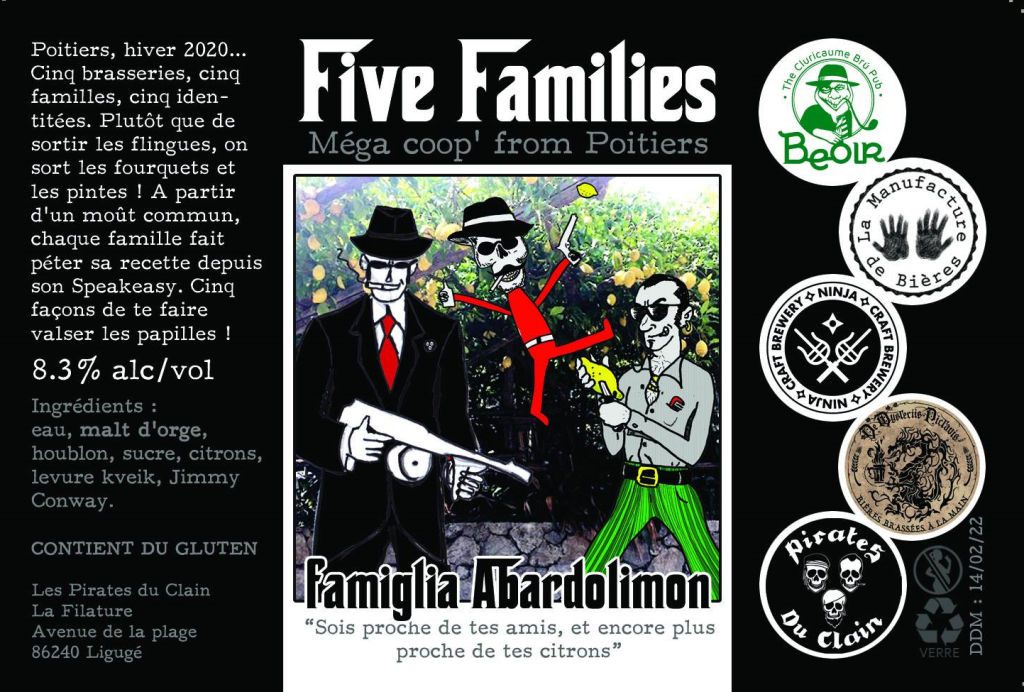 FIVE FAMILIES pirates