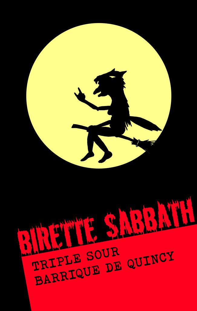 étiquette Birette Sabbath
